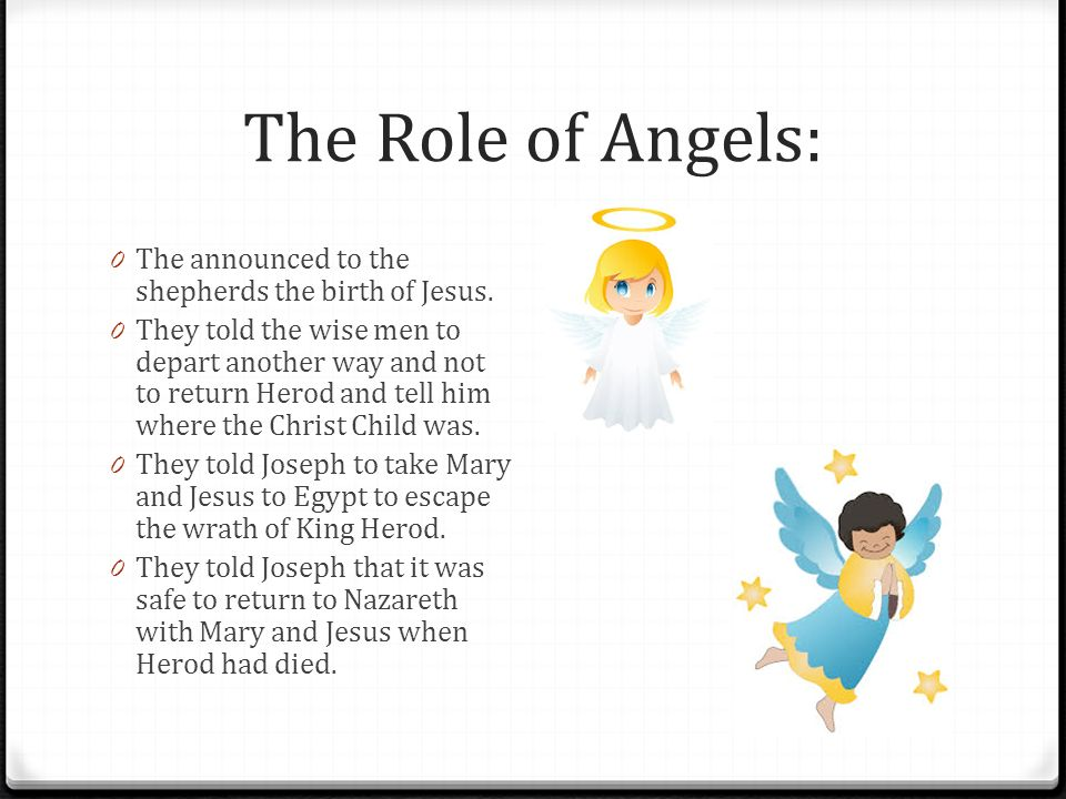 Chapter 12 Born in the City of David ppt download – Who Announced the Birth of Jesus