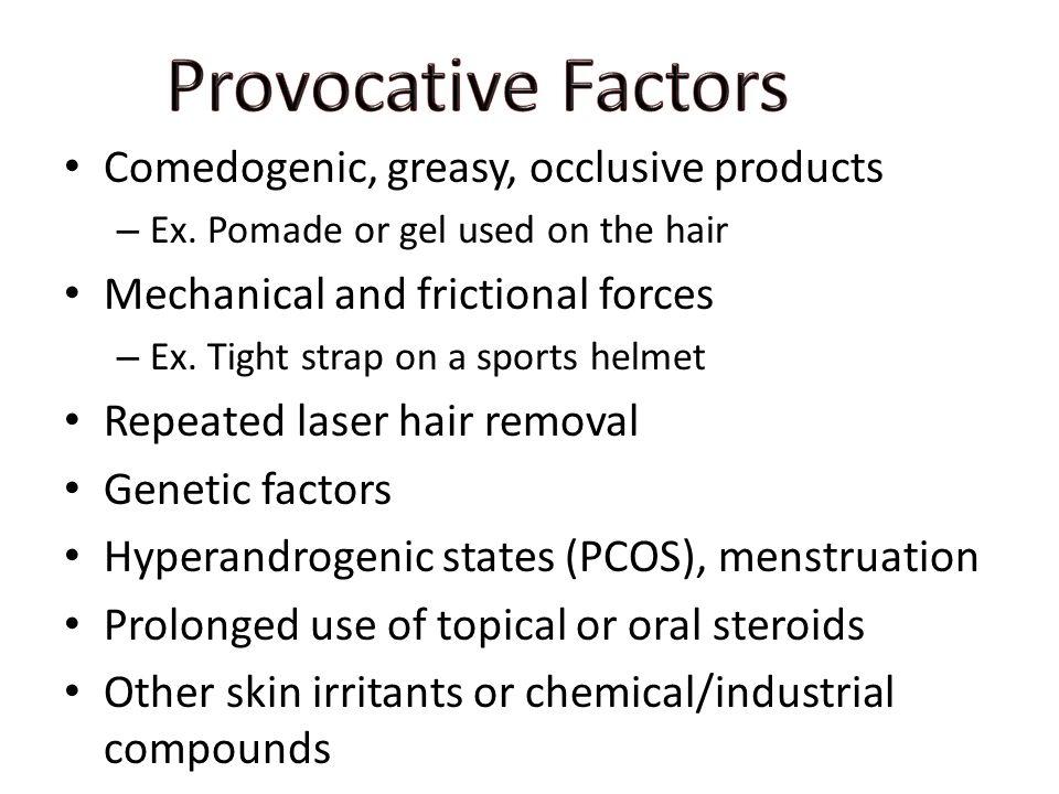 Pathogenesis of Acne Follicular disease, comedo formation ...