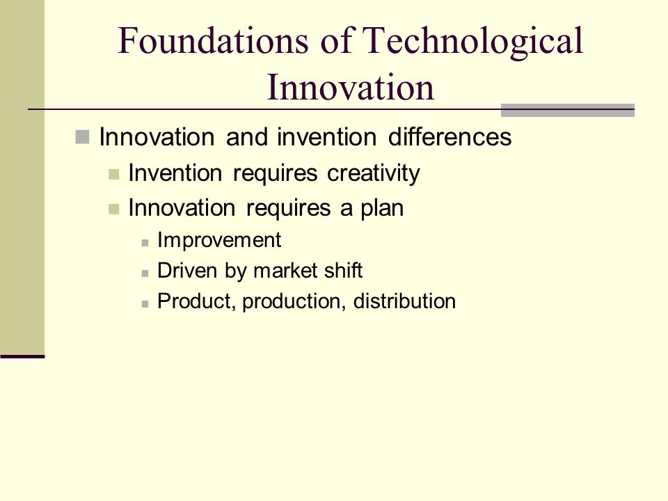 internet as the most revolutionary technological innovation The world's most innovative companies is the definitive ranking of the 100 firms investors think will create profitable new ideas produced by forbes in cooperation with innovators dna llc.