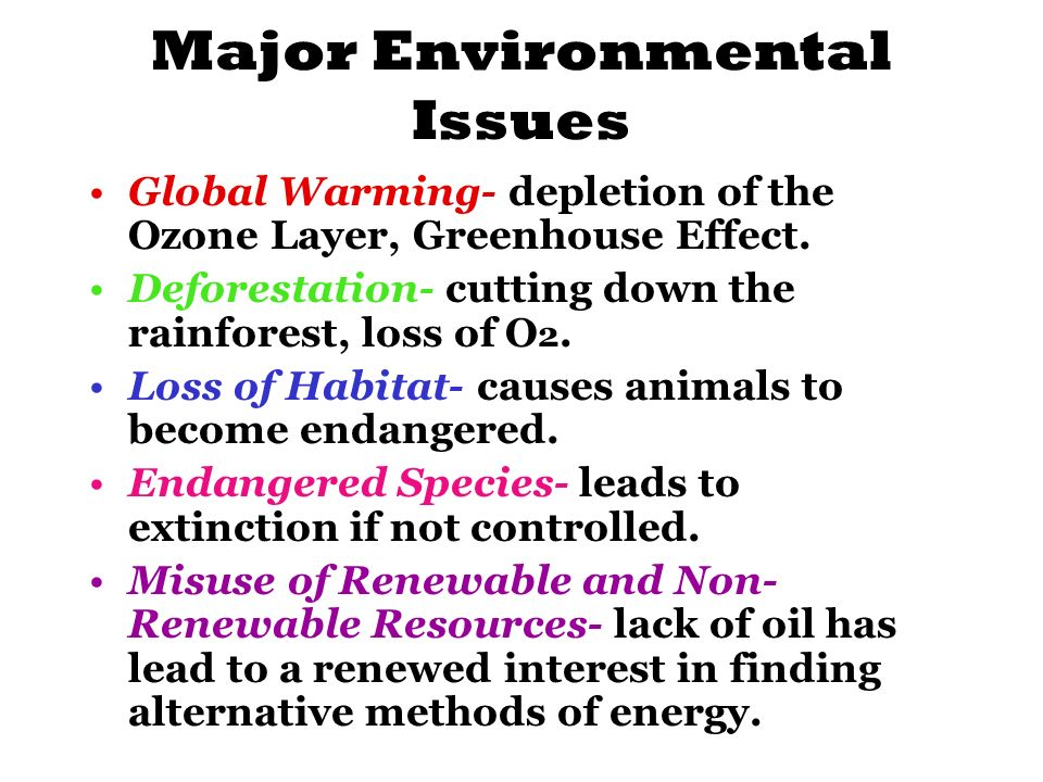 misuse of environmental resources It is important to learn how to prevent misuse of your company's technology resources and how to protect your business from legal liability for employee misuse of e-mail, blogs and the internet managing internet misuse introduction  3.