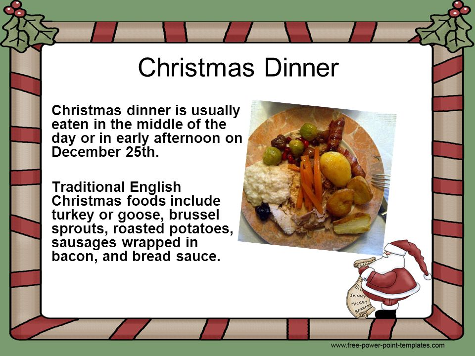 England ppt video online download for What s open to eat on christmas day
