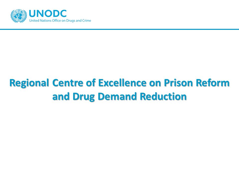 Regional Centre of Excellence on Prison Reform