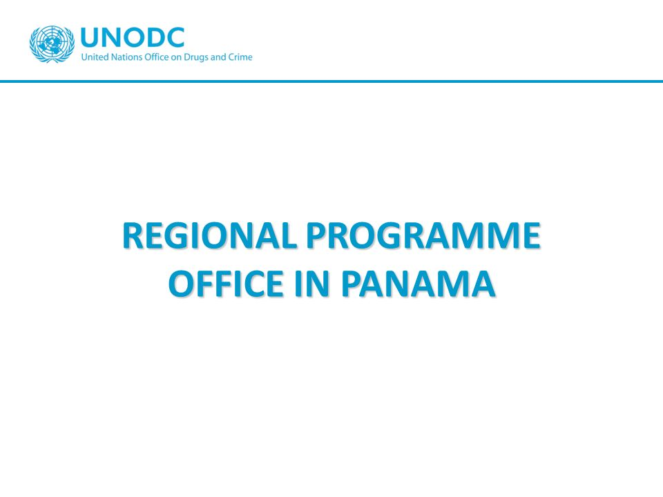 REGIONAL PROGRAMME OFFICE IN PANAMA