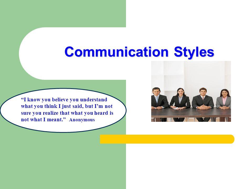 styles of communication handout pdf