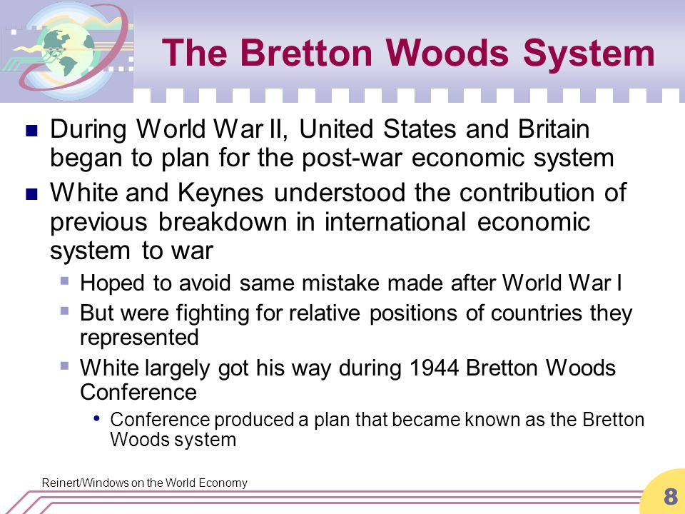 united nations monetary and financial conference of 1944 The united nations monetary and financial conference, better known as bretton  woods for the new hampshire hotel where it took place in july 1944,.