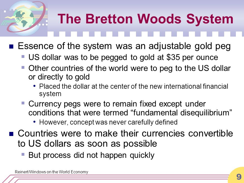 an analysis of the international financial system and the bretton woods agreements The international monetary framework which emerged after the collapse of the bretton woods system in the 1970s has proved volatile, damaging and prone to crises it is time for a fundamental redesign and the introduction of a global reserve currency, to help stabilise international exchange rates, smooth commodity prices, promote international economic cooperation, and prevent future financial.