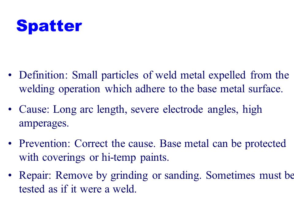a definition of welding This article will help to define what weld distortion is and then provide a practical  understanding of the causes of distortion, effects of shrinkage in various types.