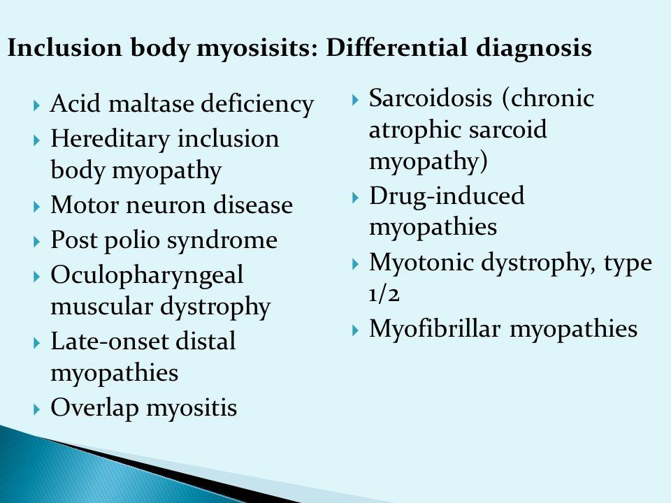 Inflammatory Myopthies Ppt Download