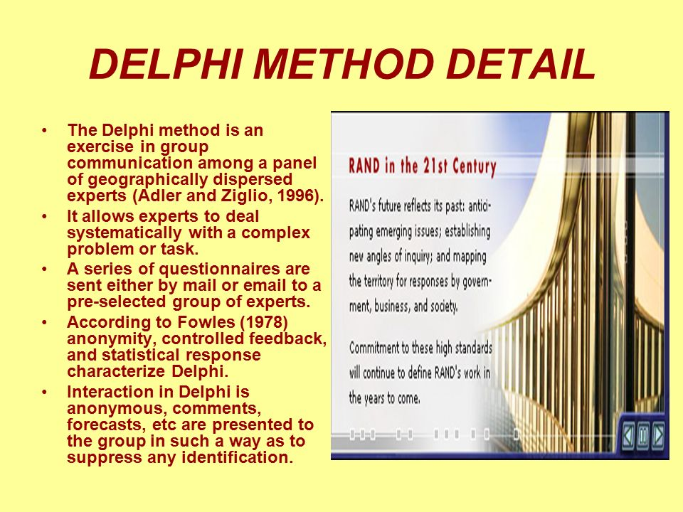 DELPHI METHOD DETAIL
