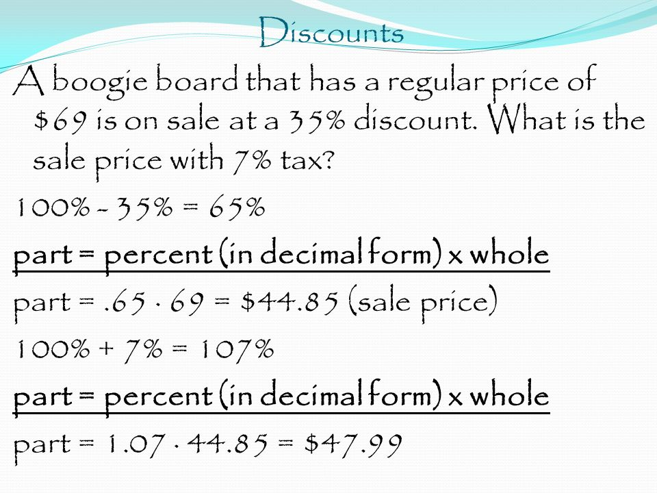 how to find regular price of a discounted item
