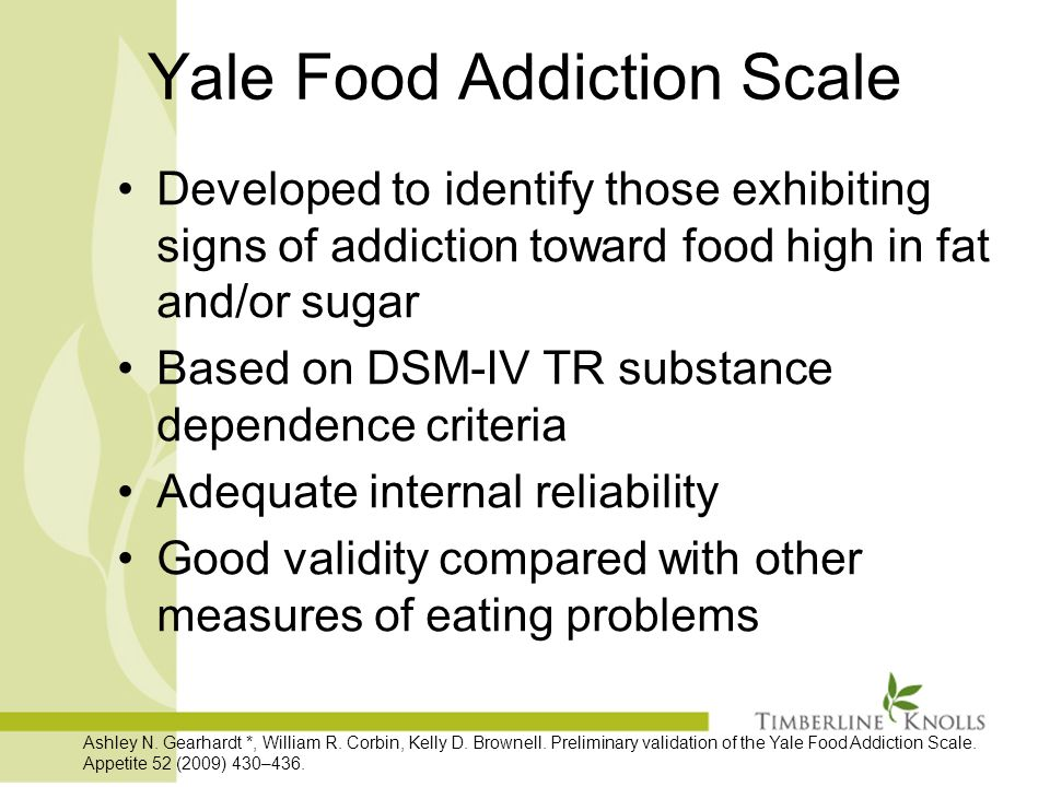 how to end an addiction to food