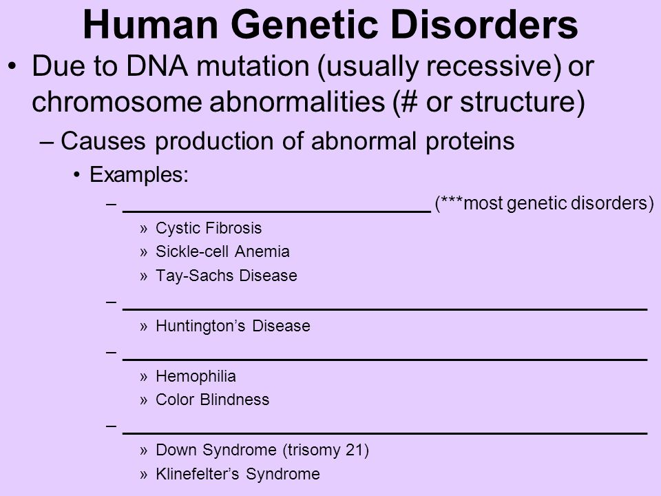 Pictures Of Human Genetic Disorders Dna Kidskunstfo