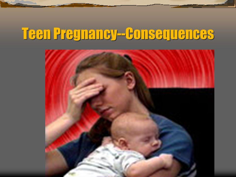 Teen Pregnancy--Consequences