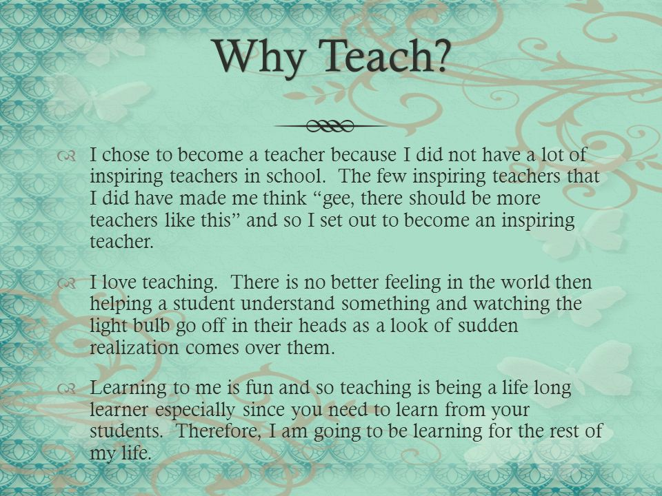 teachers should not enforce their personal beliefs in the classrooms Teachers who are interested in fostering a cultural awareness in their classroom should actively demonstrate to their students that they genuinely care about their cultural, emotional, and.