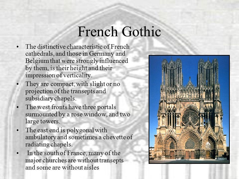 GOTHIC ARCHITECTURE Revision