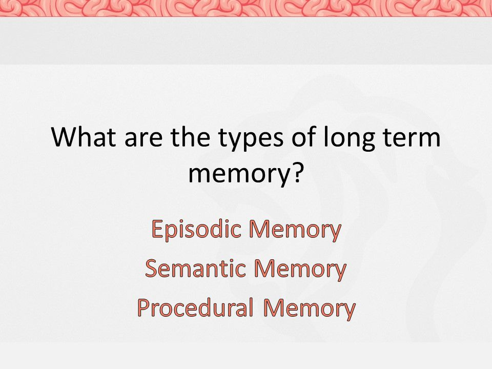 what is episodic memory Fried said understanding the underpinnings of episodic memory formation is a central problem in neuroscience and may be of important clinical significance because this type of memory is affected in patients suffering from alzheimer's and other neurological diseases.