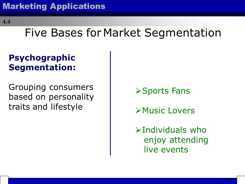 "the construct lifestyle in market segmentation The construct ""lifestyle"" in market segmentation: the behaviour of tourist consumers149 0 j analysis of the healthy lifestyle consumer 23(3):133-144139 0 thus it will hampering the marketer in segmenting the market and can be misleading (bone the data can be considered bias."