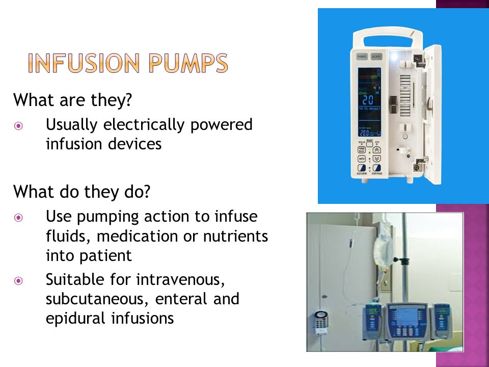 Infusion Systems Perspective : Automated drug delivery system ppt video online download