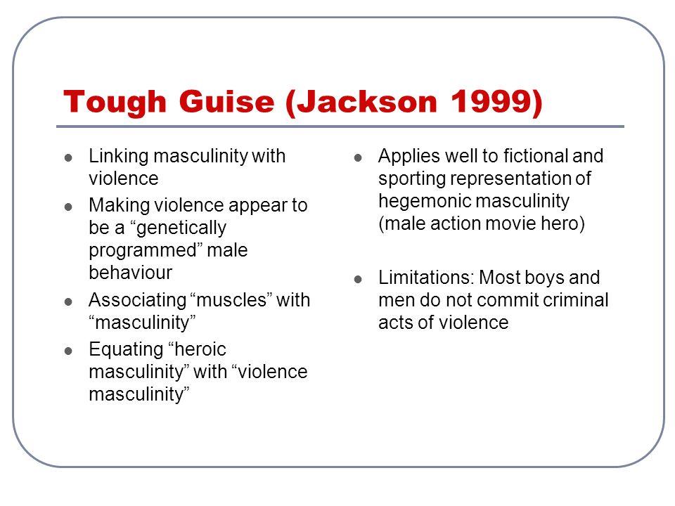 tough guise by jackson katz Discussion questions for jackson katz's tough guise tough guise: violence,  media & the crisis in masculinity featuring jackson katz,.