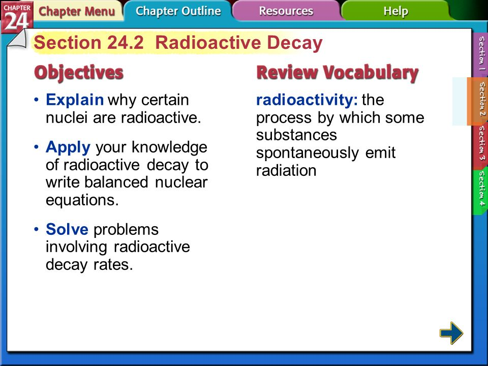 Explain the process of radioactive dating