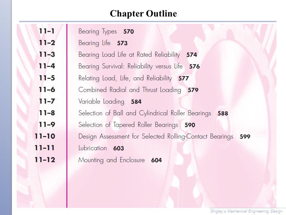 Shigley S Mechanical Engineering Design Chapter