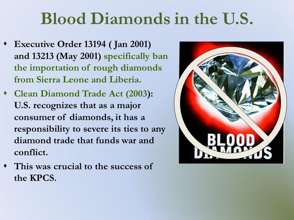 conflict diamonds in sierra leone essay Abductions, killings - sierra leone and the blood diamonds: civil war and children.