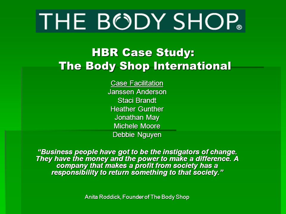 Case study writing service hbr