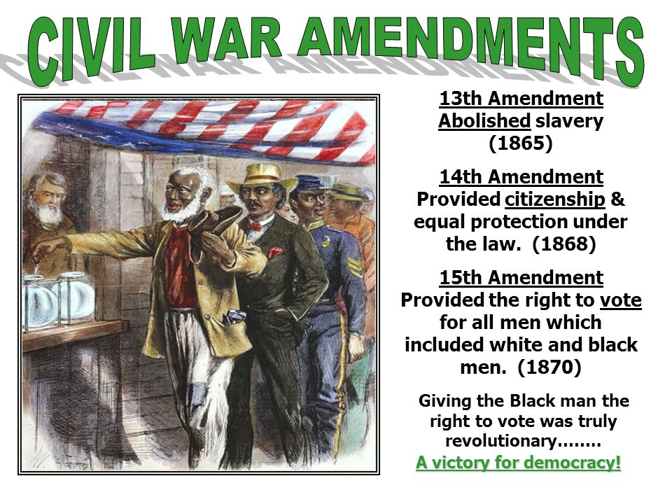 The Reconstruction Era Ppt Video Online Download