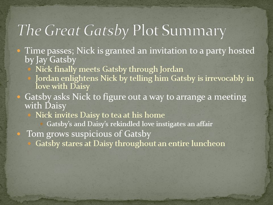 The Great Gatsby By Mason Seymore. - ppt video online download