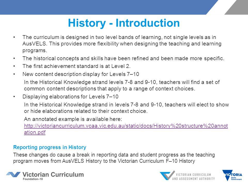 hpe vic curriculum achievement standards pdf