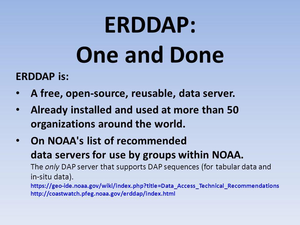 5 erddap - Open Source Erd