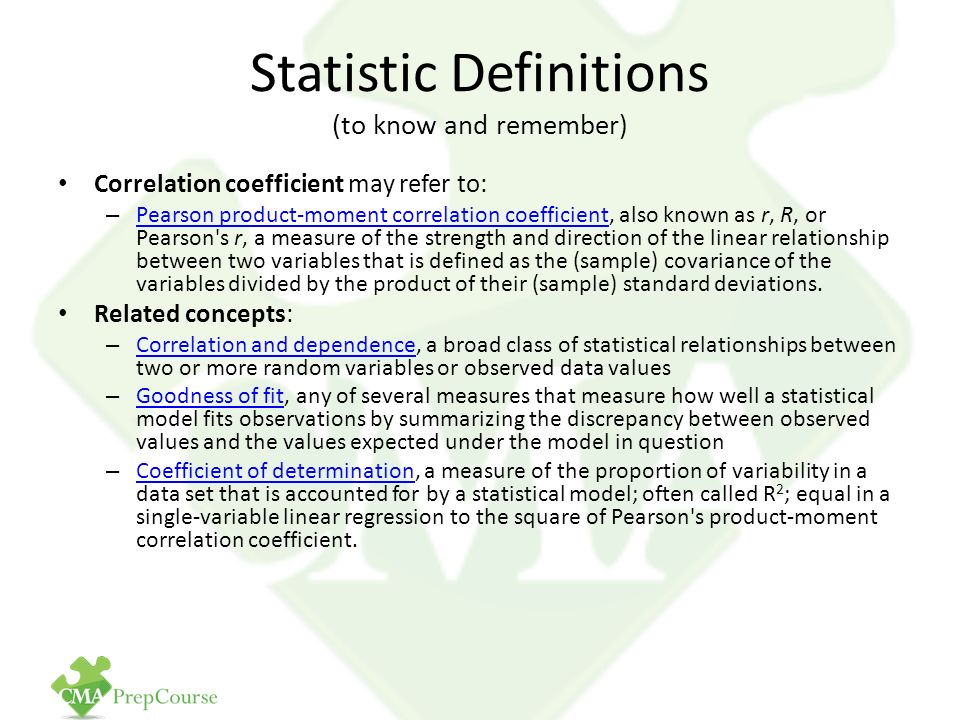 statistic definitions Variance is a statistical measure that tells uscomplete information about the variance, definition of an variance, examples of an variance, step by step solution of problems involving variance also answering questions lik.