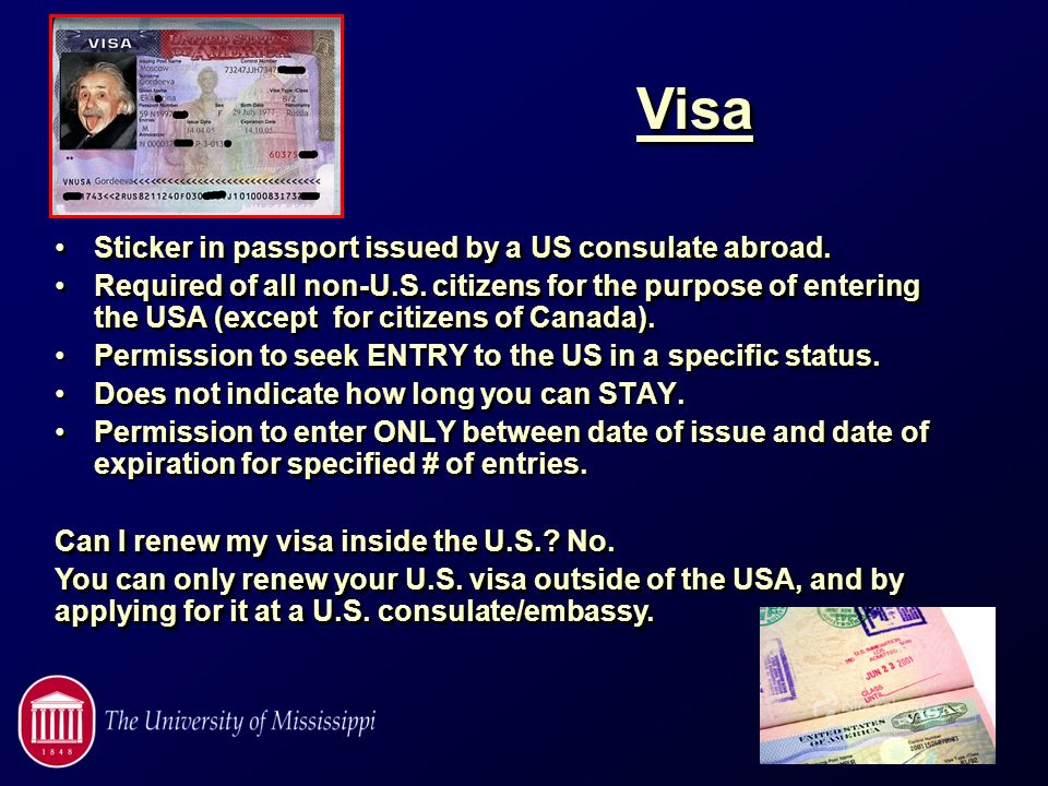 Traveling With Visa Leaving Us
