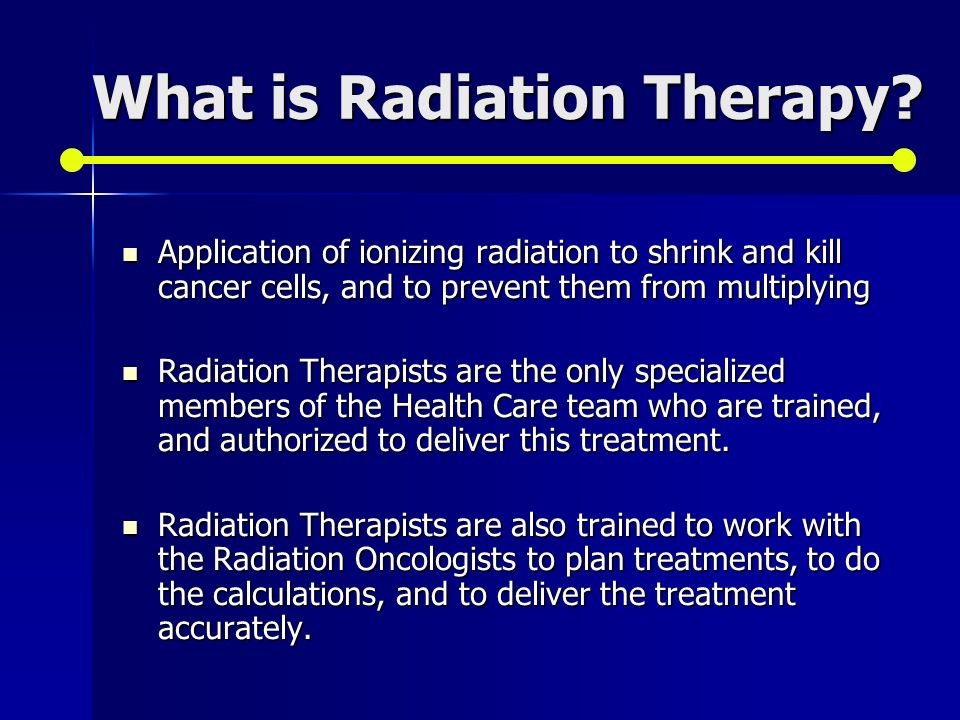 case study when radiation therapy kills 1 j appl clin med phys 2008 oct 299(4):2851 case study of radiation therapy treatment of a patient with a cardiac ventricular assist device.