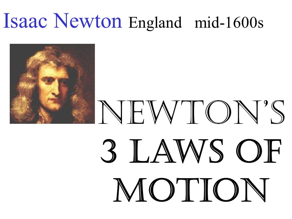 sir isaac newton 3 laws