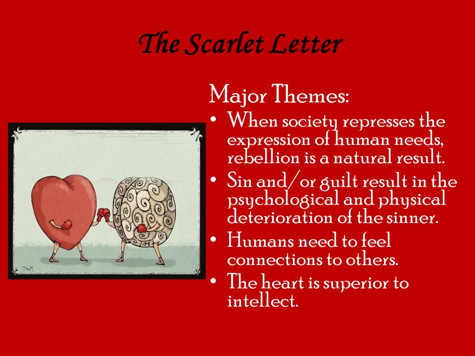 A debate about the human sin of pearl in the scarlet letter