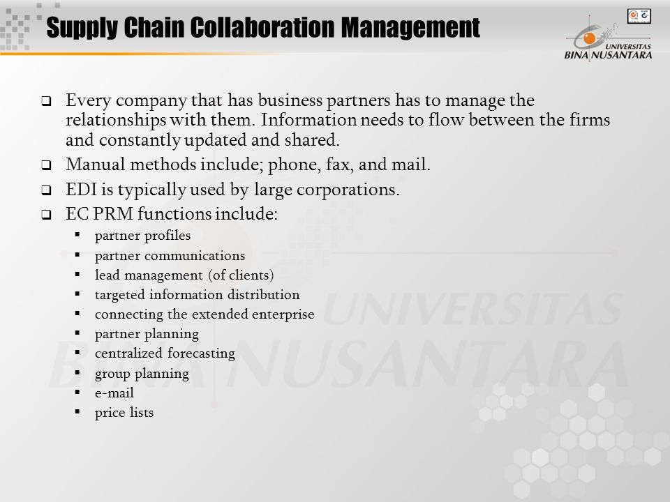 Supply Chain Organization Structure