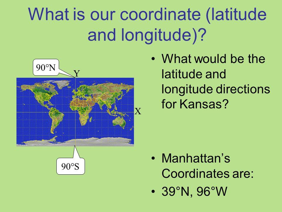Latitude And Longitude Creating Coordinates Ppt Download - Latitude and longitude of kansas