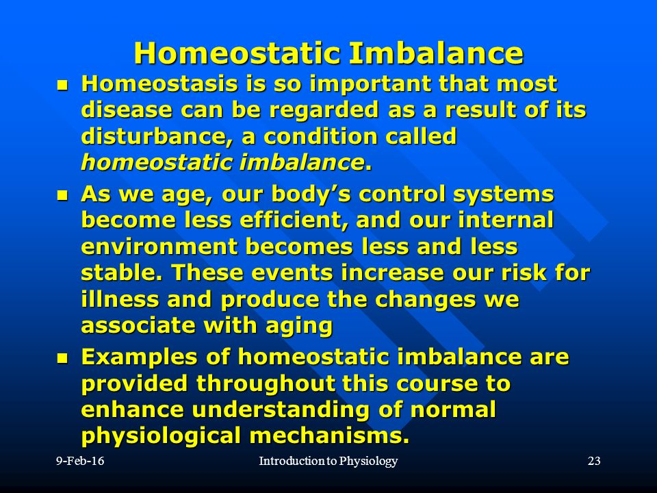 homeostatic imbalance The heart is a complicated structure full of ventricles, valves, atriums, and many other objects that all help us to live and breathe when a person doesn't treat.