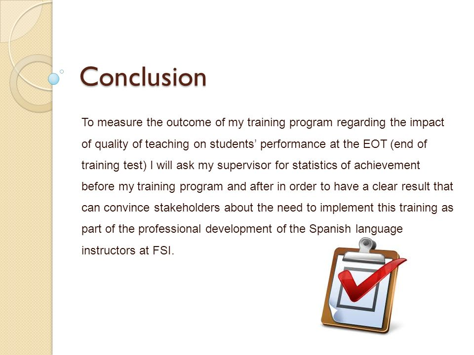 training the spanish language and culture instructors at