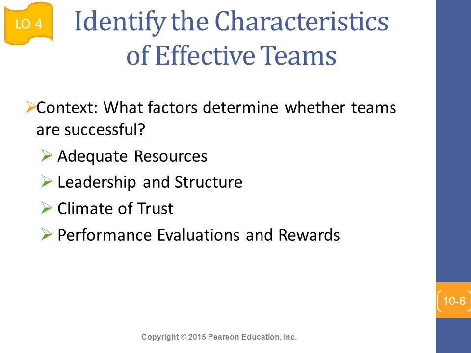 a description of the effective leadership of self managing work teams It's your job as leader to uncover employees' fears and barriers to success and alleviate their concerns, including shyness, self-consciousness, poor communication skills, fear of conflict, impatience with, or dislike of, other members of the team, and bias (gender, racial, ethnic.