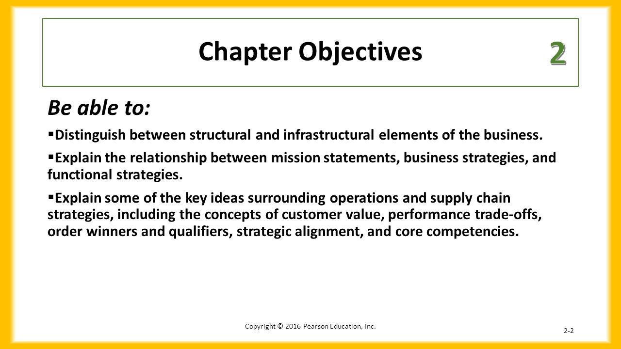 explain the relationship between business strategy and operations