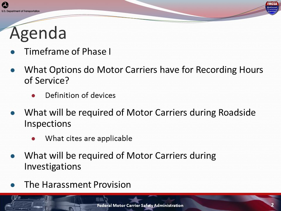 Definition of motor carrier for What is the federal motor carrier safety regulations