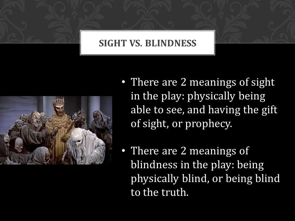 "sight or blindness 39 and jesus said, ""for judgment i have come into this world, that those who do not see may see, and that those who see may be made blind"" 40 then some of the pharisees who were with him."