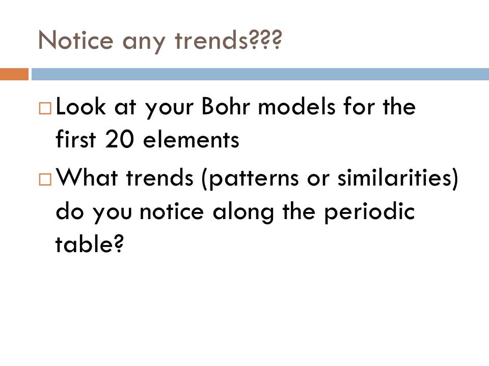 Bohr models and quiz resume out please ppt download for 11 20 elements on the periodic table