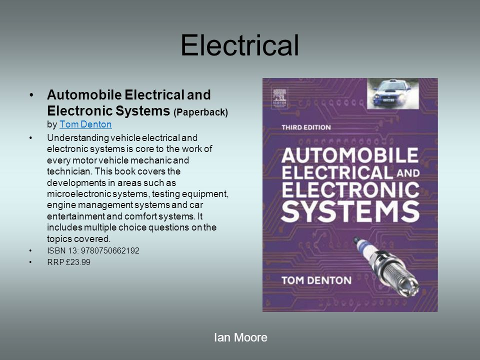 Motor vehicle reading list ppt video online download 9 electrical automobile electrical and electronic systems publicscrutiny Choice Image