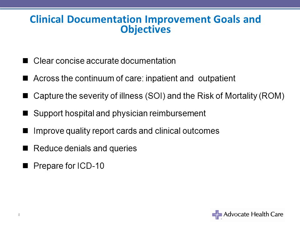 clinical documentation Cdeo professionals provide feedback to providers to improve clinical  documentation and facilitate ongoing documentation improvement to meet all.