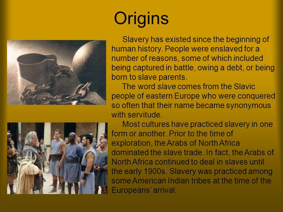 beginnings of slavery in america