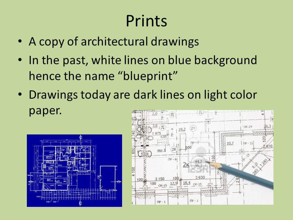 Architectural drawings components of house plans ppt for Printing architectural drawings