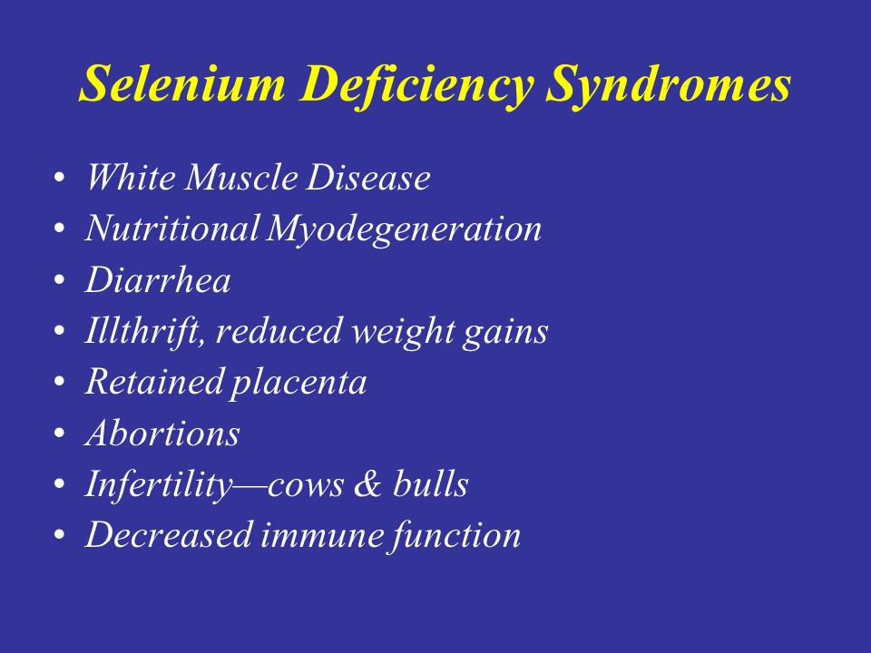 Keshan Disease Selenium Deficiency and the